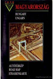 Magyarország autótérkép 1:500000 - Régikönyvek