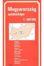 Magyarország autótérképe - Régikönyvek