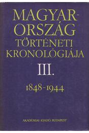 Magyarország történeti kronológiája III. - Régikönyvek