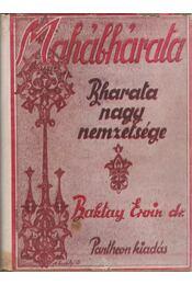 Mahábhárata - Baktay Ervin - Régikönyvek