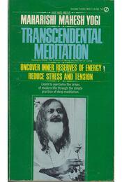 Transcendental Meditation - Maharishi Mahesh Yogi - Régikönyvek