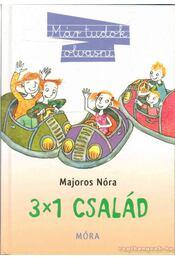 3x1 család - Majoros Nóra - Régikönyvek