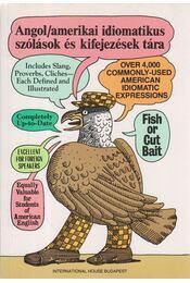 Angol/amerikai idiomatikus szólások és kifejezések tára - Makkai Ádám - Régikönyvek