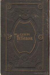Mákzór imádságos könyv az év minden napjára IV. kötet - Régikönyvek
