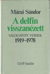 A delfin visszanézett - Márai Sándor - Régikönyvek