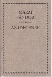 Az idegenek - Márai Sándor - Régikönyvek
