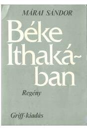 Béke Ithakában - Márai Sándor - Régikönyvek