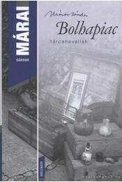 Bolhapiac - Márai Sándor - Régikönyvek