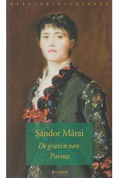 De gravin van Parma - Márai Sándor - Régikönyvek