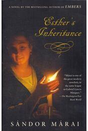 Esther's Inheritance - Márai Sándor - Régikönyvek