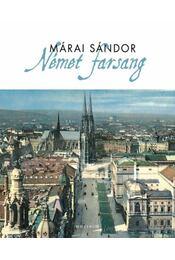 Német farsang - Márai Sándor - Régikönyvek