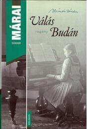 Válás Budán - Márai Sándor - Régikönyvek