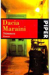 Stimmen - Maraini, Dacia - Régikönyvek