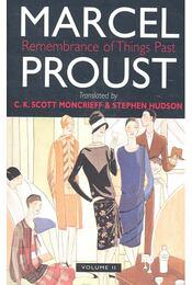 Remembrance of Things Past - vol 2 - Marcel Proust - Régikönyvek