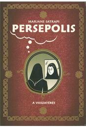 Persepolis II - A visszatérés - Marjane Satrapi - Régikönyvek