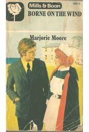 Borne on the Wind - Marjorie Moore - Régikönyvek