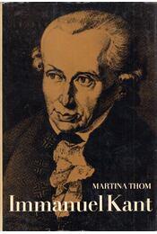 Immanuel Kant - Martina Thom - Régikönyvek