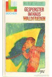 Gespenster im Haus Waldfrieden - Meissel, Wilhelm - Régikönyvek