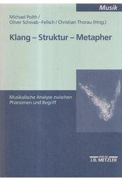 Klang - Kultur - Metapher - Michael Polth, Oliver Schwab-Felisch, Christian Thorau - Régikönyvek