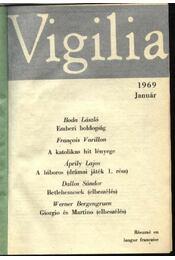 Vigilia 1969. (teljes) - Mihalics Vid (szerk.) - Régikönyvek