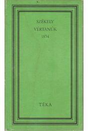 Székely vértanúk 1854 - Mikó Imre, Csehi Gyula - Régikönyvek