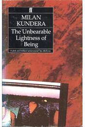 The Unbearable Lightness of Being - Milan Kundera - Régikönyvek