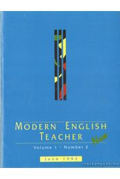 Modern English teacher - Régikönyvek
