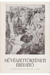 Művészettörténeti értesítő XLIII. évf. 1-2. szám - Mojzer Miklós - Régikönyvek