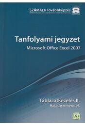 Microsoft Office Excel 2007 - Táblázatkezelés II. - Molnár Mátyás - Régikönyvek