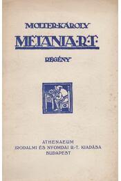 Metania Rt. - Molter Károly - Régikönyvek