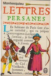 Lettres persanes - Montesquieu - Régikönyvek