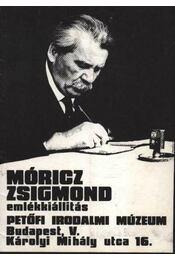 Móricz Zsigmond emlékiállítás - Régikönyvek
