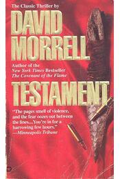 Testament - Morrell, David - Régikönyvek