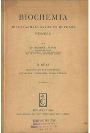 Biochemia II. - Mosonyi János Dr. - Régikönyvek