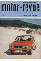 Motor-revue 81/1 - Régikönyvek