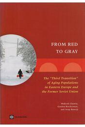From Red to Gray - Mukesh Chawla, Gordon Betcherman - Régikönyvek