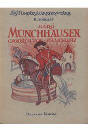 Münchhausen báró csodálatos kalandjai - Régikönyvek