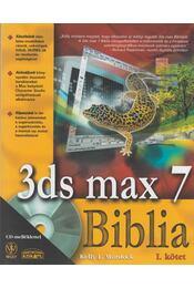 3DS MAX 7 Biblia I-II. - Murdock, Kelly L. - Régikönyvek