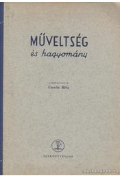 Műveltség és hagyomány IV. - Ujváry Zoltán, Ferenczi Imre - Régikönyvek