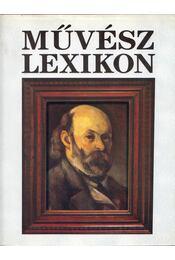 Művész lexikon 1. - Régikönyvek