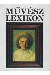 Művész lexikon 4. - Régikönyvek