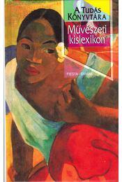 Művészeti kislexikon - Régikönyvek