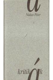 Kritikák - Nádas Péter - Régikönyvek