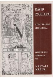 Dávid zsoltárai II. - Naftali Kraus - Régikönyvek