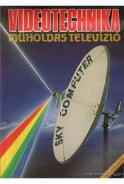 Videotechnika - műholdas televízió - Nagy Árpád - Régikönyvek