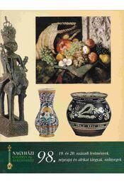 Nagyházi Galéria és Aukciósház 98. - Régikönyvek