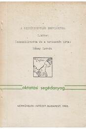 A színésznevelés breviáriuma I. - Nánay István - Régikönyvek