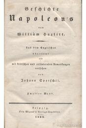 Geschichte Napoleon's Zweiter Band - Hazlitt, William - Régikönyvek