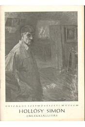 Hollósy Simon (1857-1918) emlékkiállítás - Németh Lajos - Régikönyvek