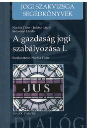 A gazdasági jog szabályozása I. - Nochta Tibor - Régikönyvek